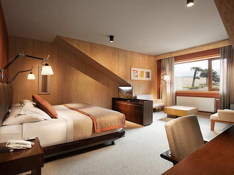 habitacion suite corralco
