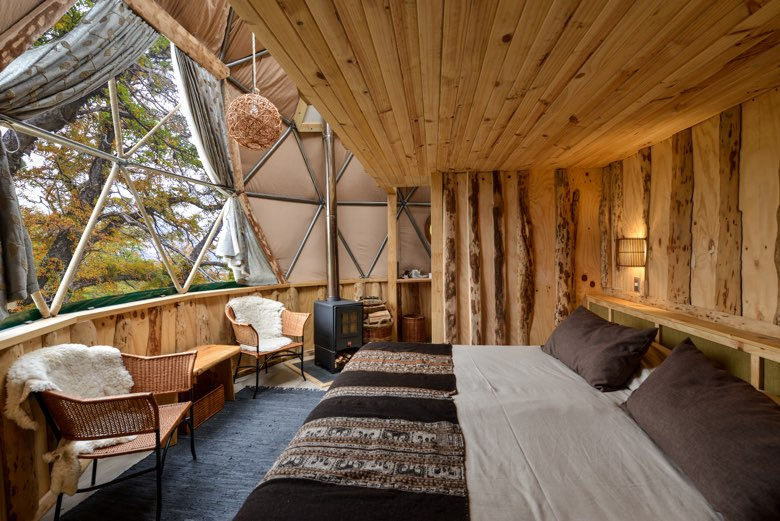 suite dome loft interior ecocamp patagonia torres del paine np chile 27872910430 o